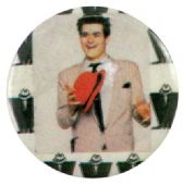 Madness - 'Mike Barson Red Hat' Button Badge